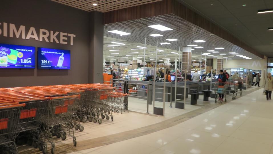 8138af6061d Lõunakeskuse Maksimarket on uues kohas avatud - Tartu Tarbijate ...